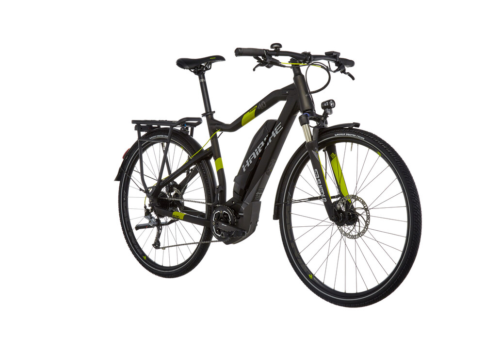 haibike sduro trekking 4 0 herren schwarz titan lime matt. Black Bedroom Furniture Sets. Home Design Ideas